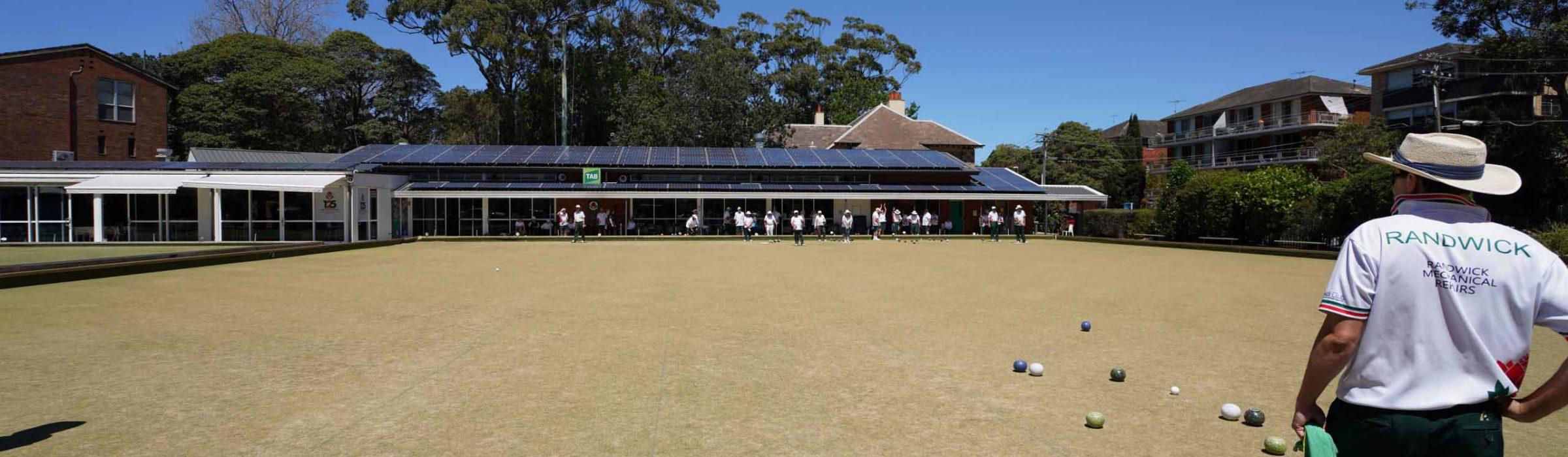 Randwick Bowling Club FP2